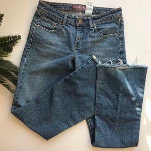 Levi's super low 518 bootcut jeans size 7m